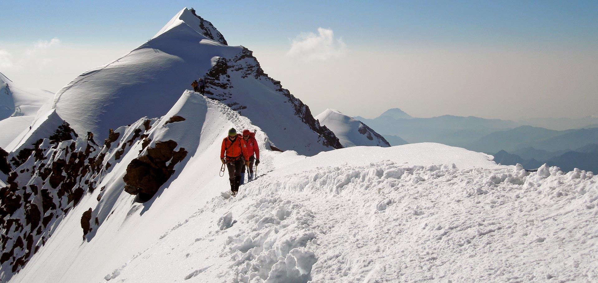 Alpinisme avec un Guide de Haute Montagne