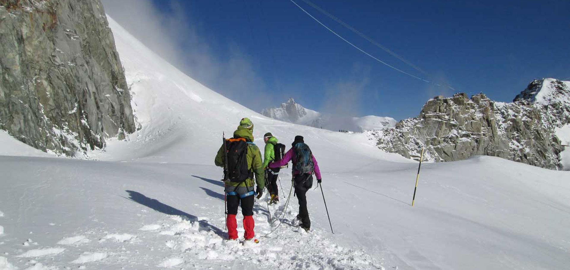 Formarsi sulle Alpi