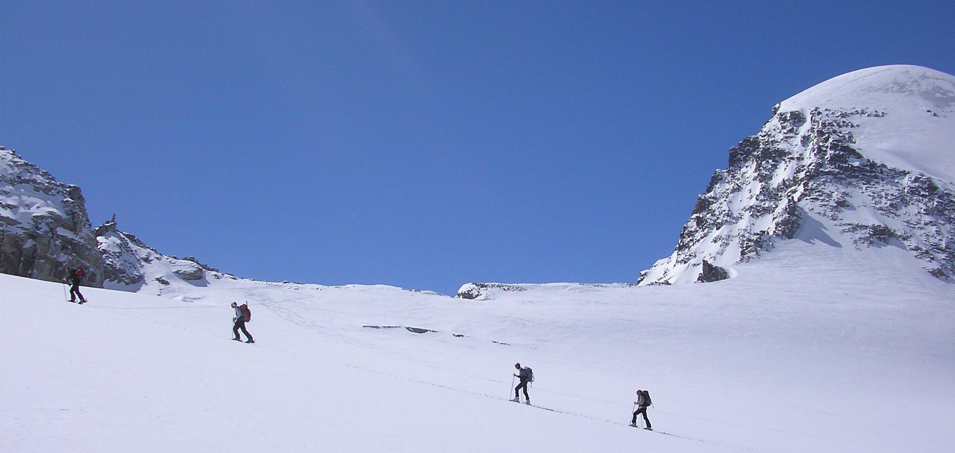 Corsi di Livello 5 di sci alpinismo