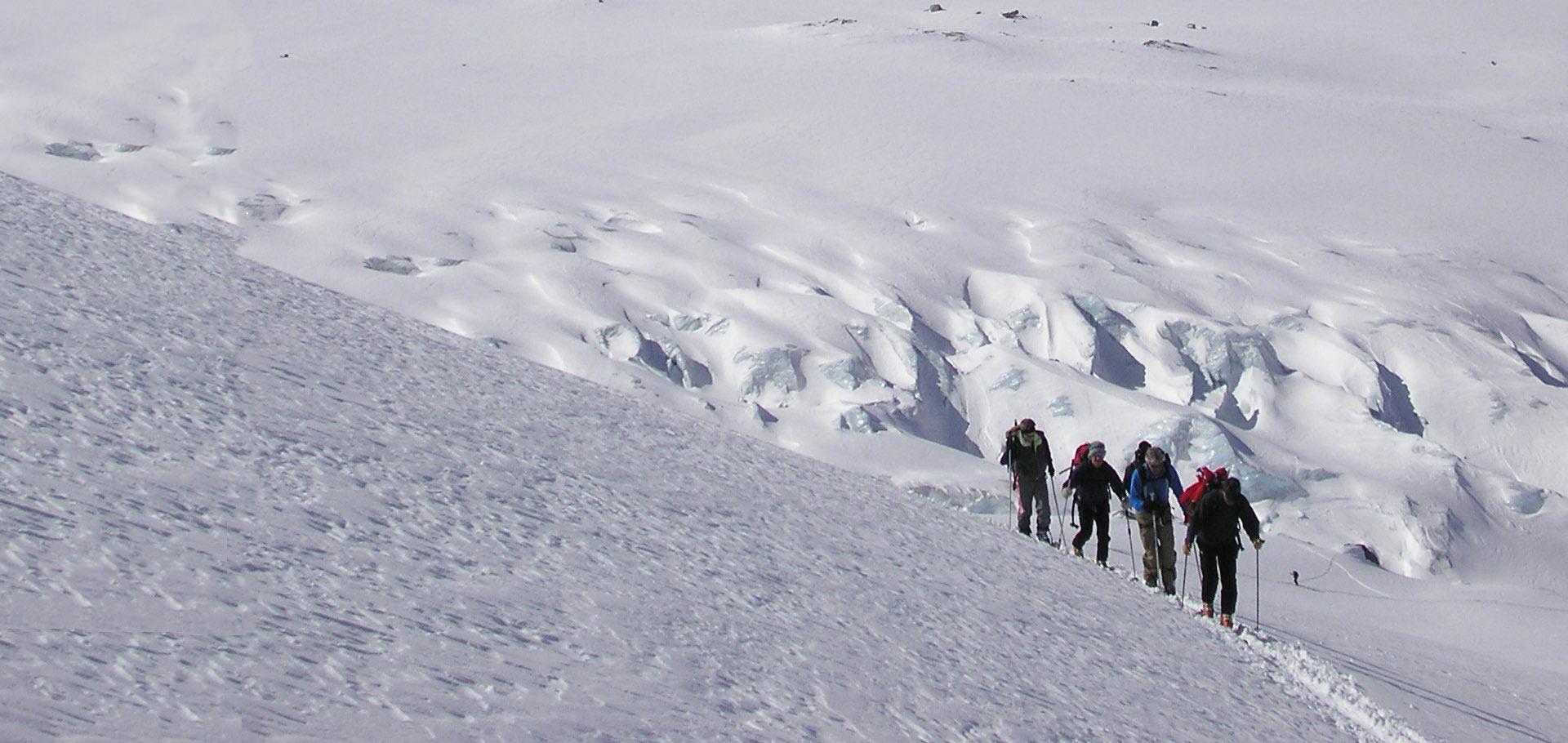 Numero di persone ogni Guida Alpina