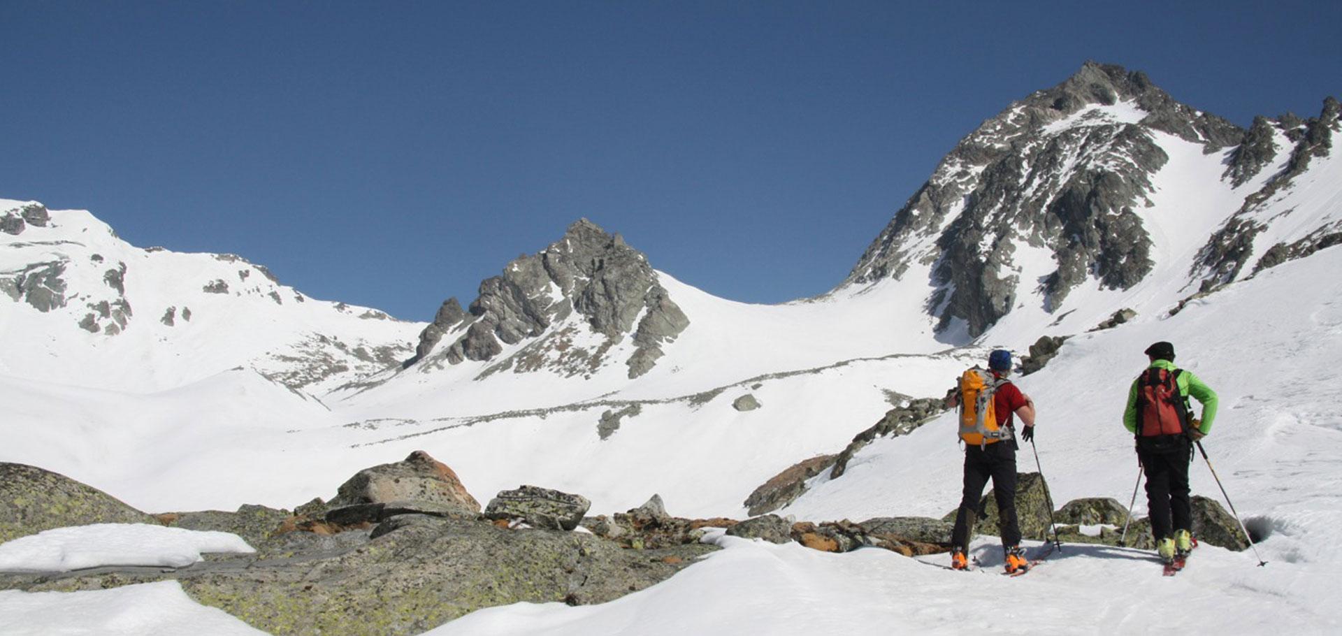 Sci alpinismo con Guida Alpina