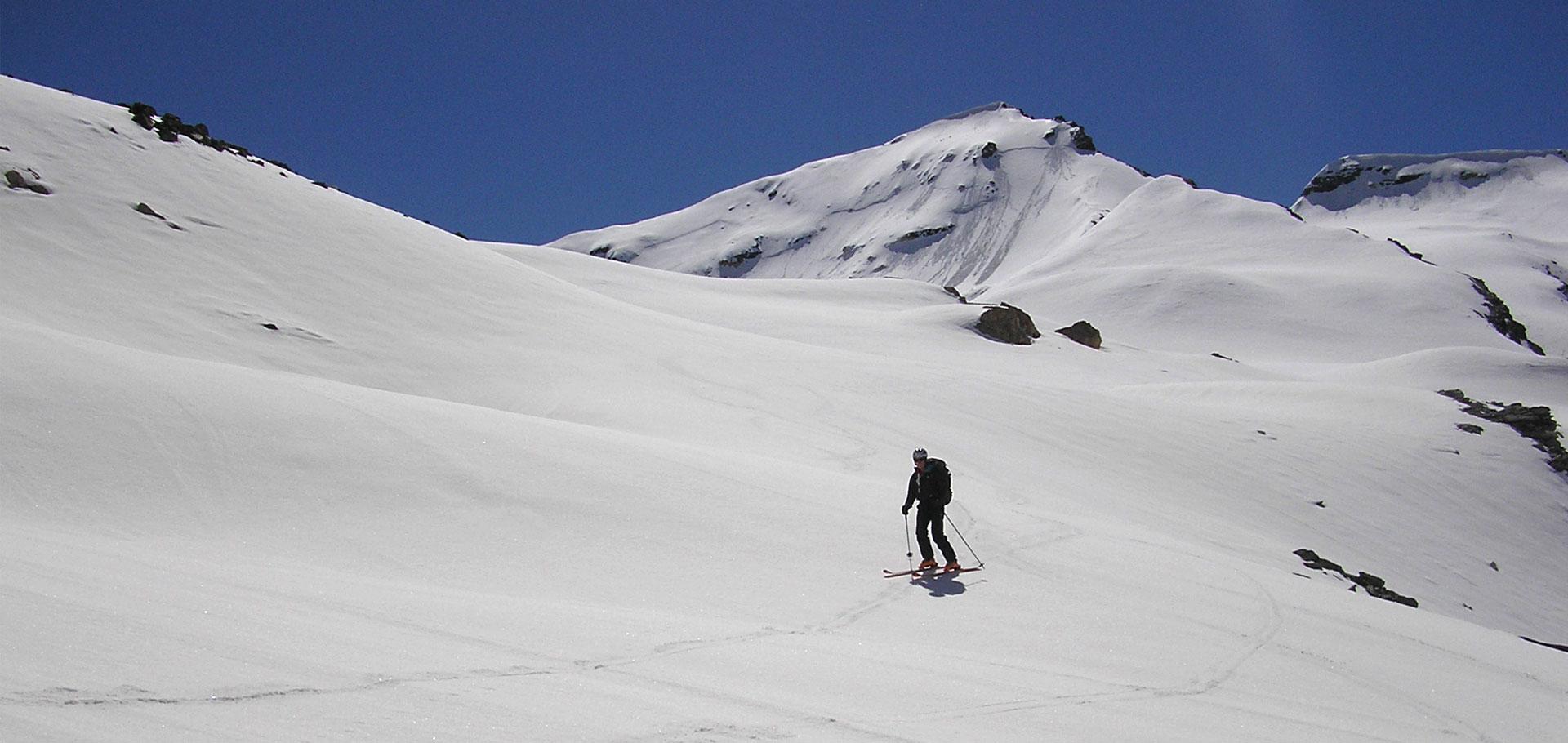 Ski de rando au refuge Benevolo  (Rhémes – Italie)